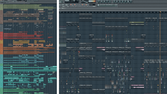 FL Studio Clean vs Messy Project