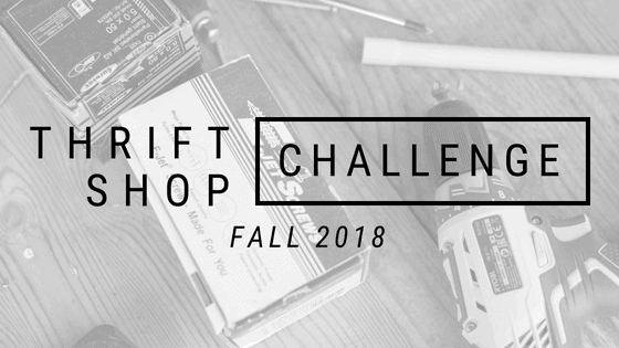 Thrift Shop Challenge - Fall 2018
