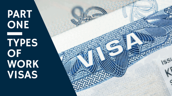 Work Visas NC - Types of Work Visas