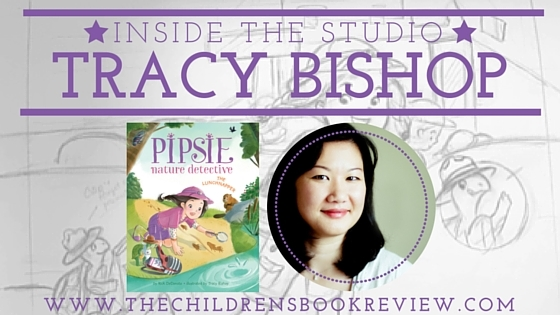 Inside the studio with Tracy Bishop, Illustrator of Pipsie, Nature Detetive_ The Lunchnapper