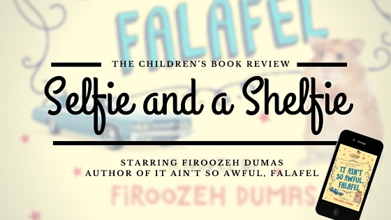 Firoozeh Dumas, Author of It Ain't So Awful, Falafel | Selfie and a Shelfie (or Deskie)