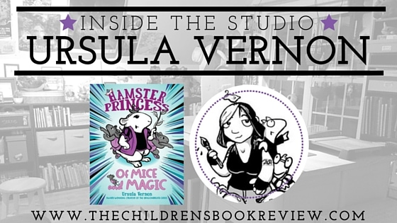 Inside the studio with Ursula Vernon, Creator of the Hamster Princess Series