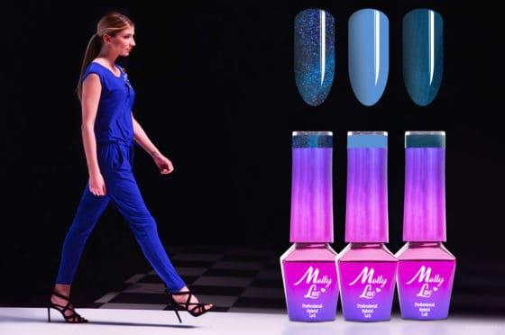 lakiery hybrydowe na pokazach mody