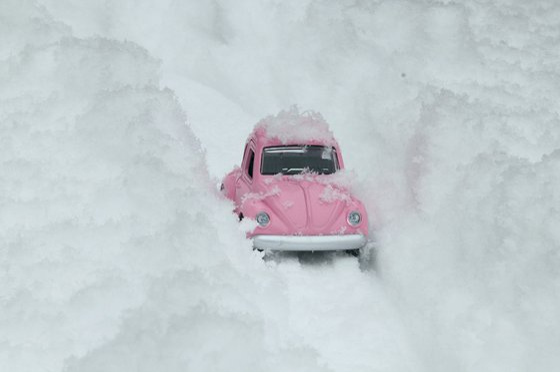 Snow, Road