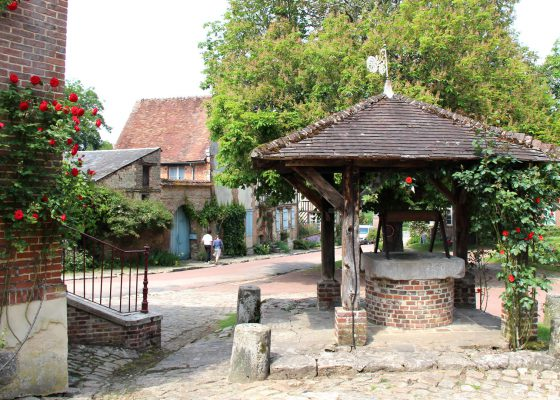 Visiter le village Gerberoy l'un des plus beaux villages de France