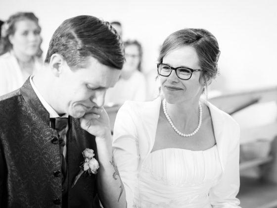 Hochzeitsfotograf Kempten Momente Trauung Traenen