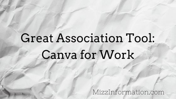 Cool Tool for Associations: Canva for Work