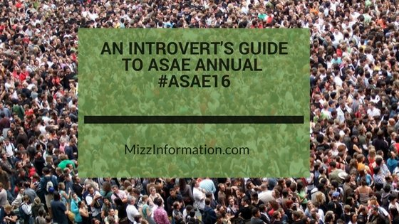 An Introvert's Guide to ASAE Annual