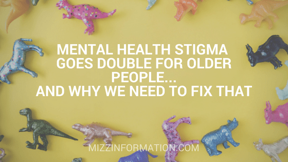 Mental health stigma goes double for older people–and why we need to fix that
