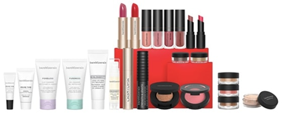 bareMinerals 24 Days of Clean Beauty: Advent Calendar with Mini Makeup & Skincare Favorites | 40plusstyle.com