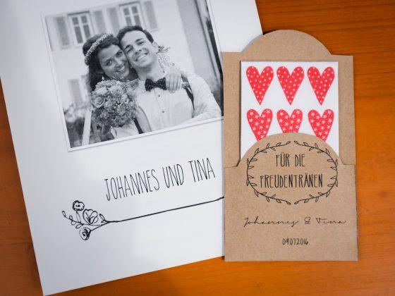 Hochzeitsfotograf Kempten Details Taschentücher