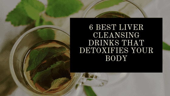 Liver cleansing drink