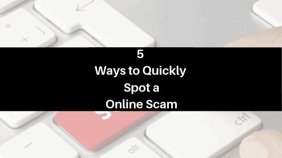 5 wayts to spot a scam