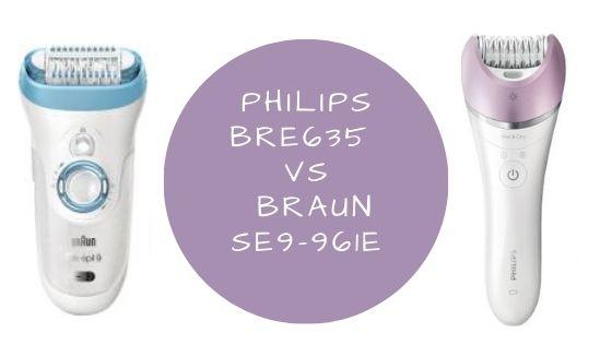 Philips BRE635 VS Braun SE9-961E featured image