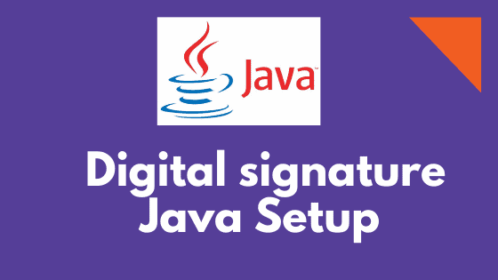 Digital signature Java error