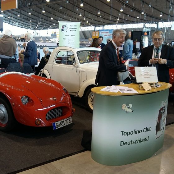 Topolino Club Deutschland Messestand