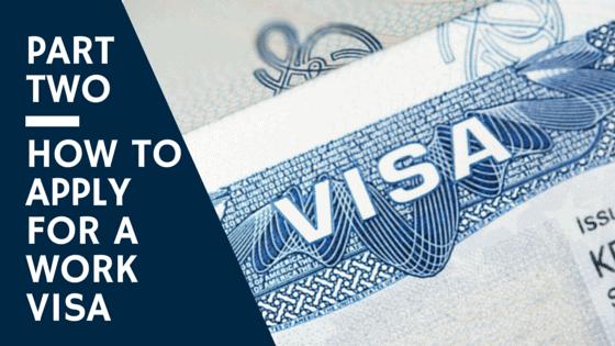 Work Visa NC - How to Apply