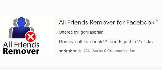 unfriend all friends on facebook