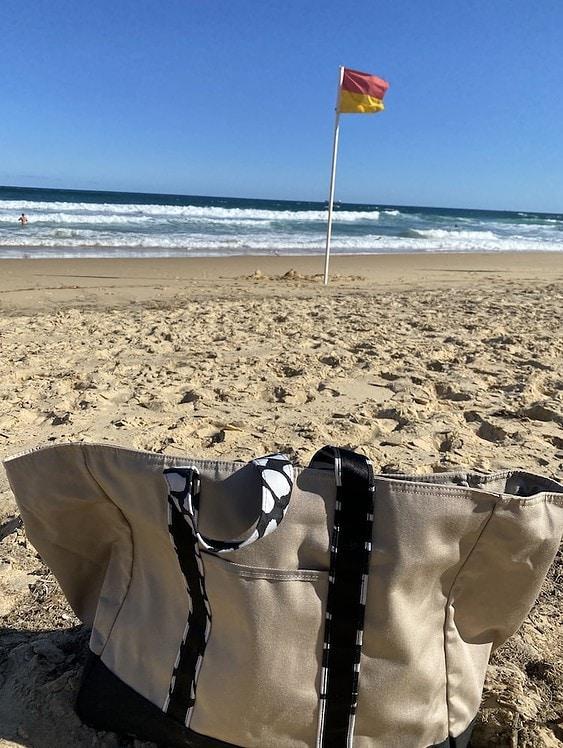 Basil Bangs Beach Tote