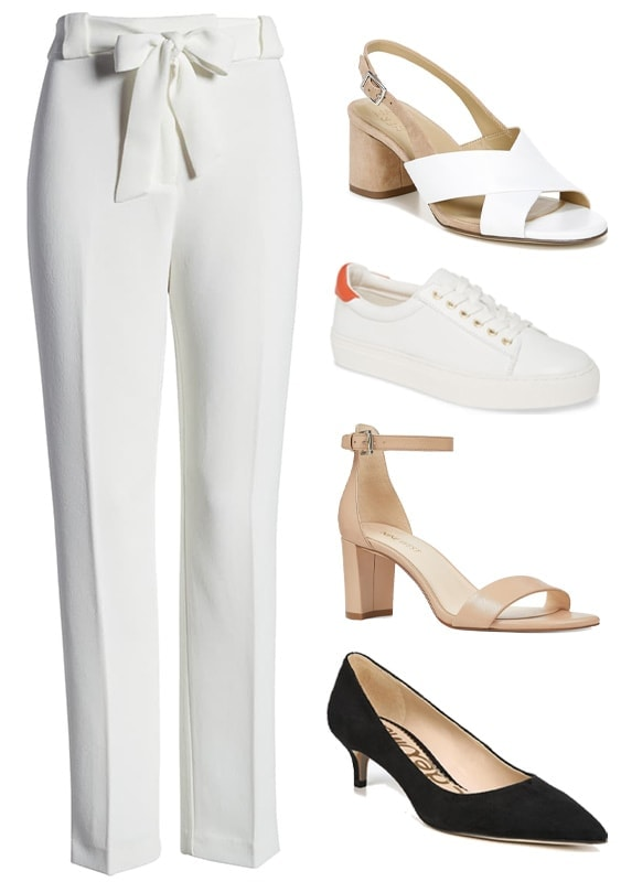 Straight leg pants | 40plusstyle.com