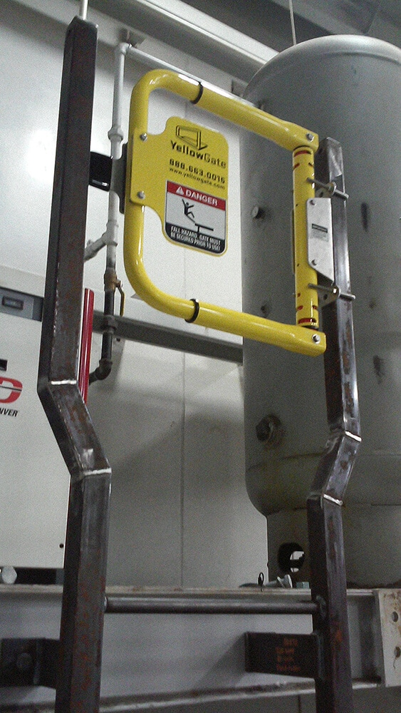 Safety Swing Gate for Top of Ladder