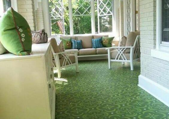 PRAIRIE GREEN PORCH FLOOR PAINT COLOR