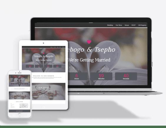 Wedding Website Theme