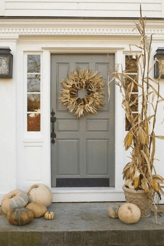 HUMBLE BACKYARD DOOR PORCH BACKYARD DESIGN AND DECOR IDEAS