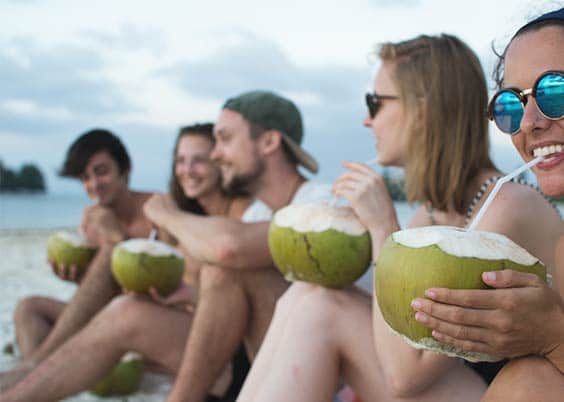 A Coconut is always a good idea
