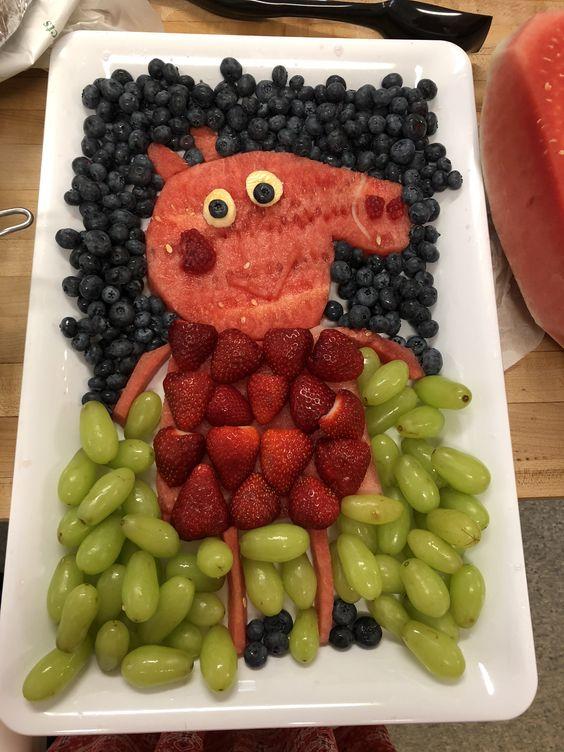 Peppa Pig Fruit Tray