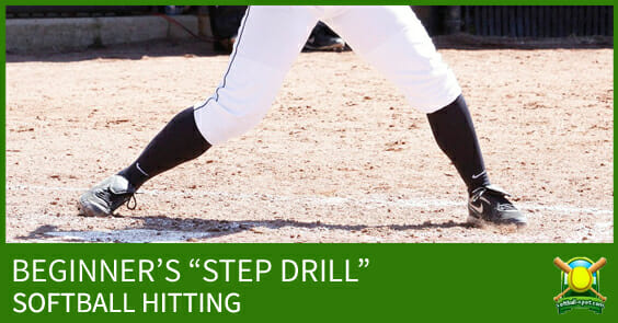 SOFTBALL HITTING STEP DRILL