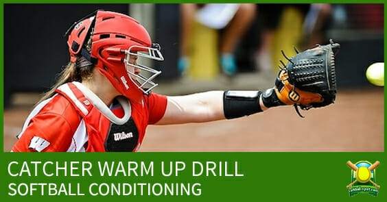 catcher warm up drill