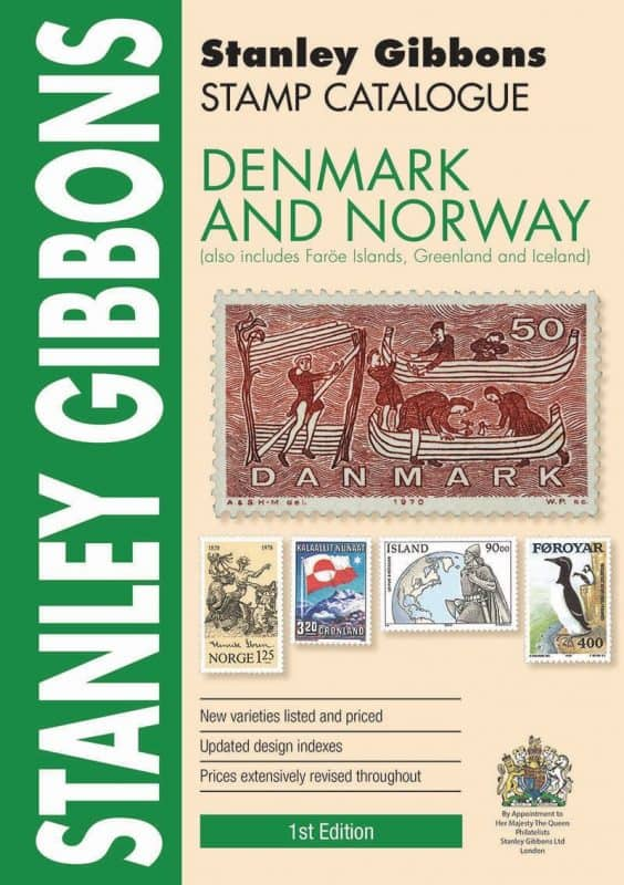 Stanley Gibbons Denmark & Norway Stamp Catalogue – 1st Edition