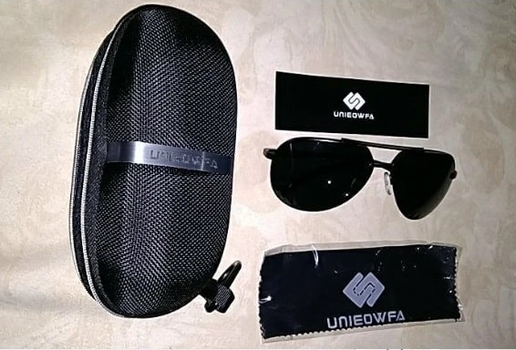 fake sunglasses replica Shades UNIEOWFA aviator glasses knockoff 5