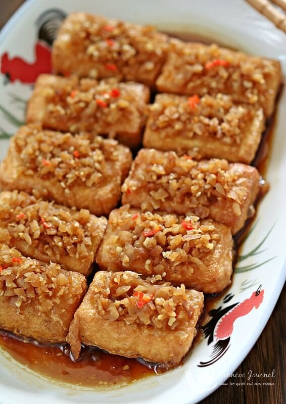 chai poh egg tofu