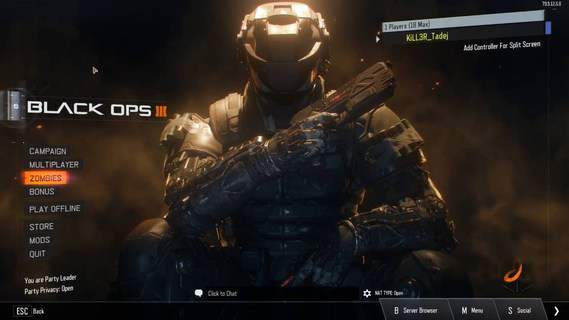 Call of Duty Black Ops 3 Could not find Zone en_core_pre_gfx