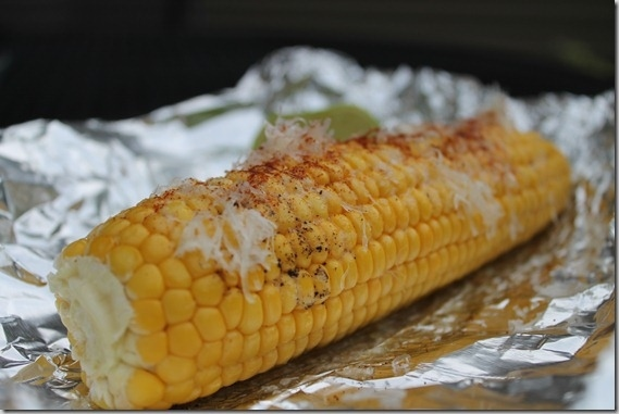 Salty and Sour Corn on the Cob