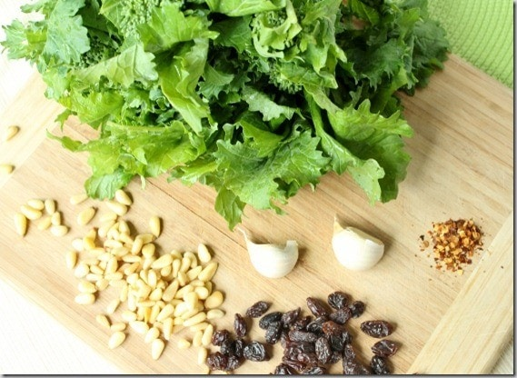 broccoli rabe ingredients