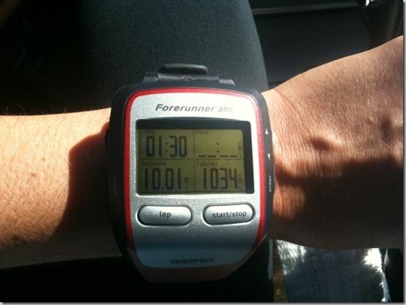 10 mile run statistics