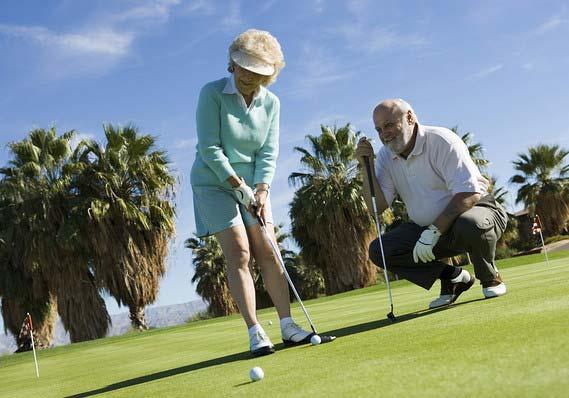 Puis-je rejouer au golf après une prothèse de hanche ou du genou?