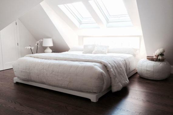 low profile platform bed
