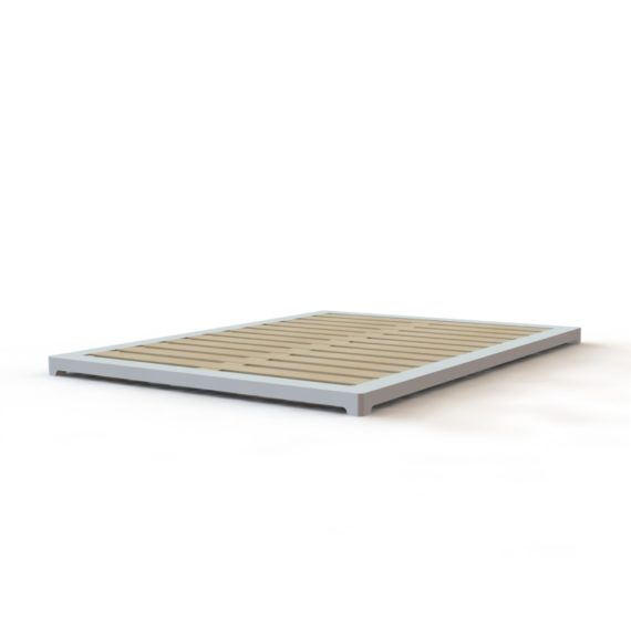 3in high modern bed frame