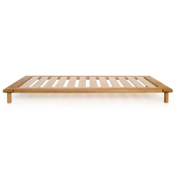 modern wood platform bed - no4 bed in oak