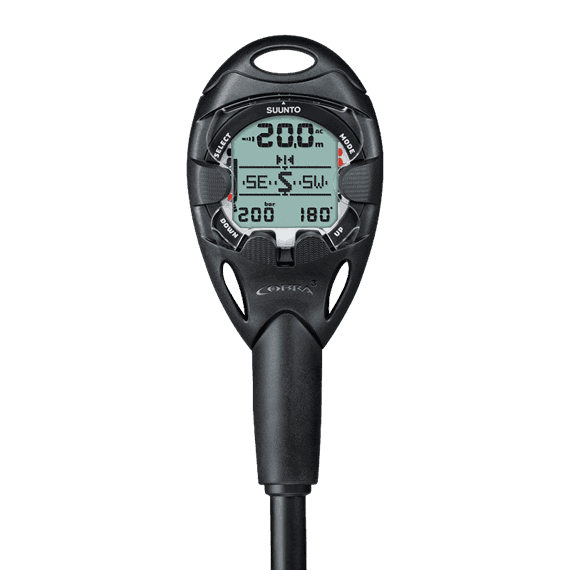 Suunto Cobra 3 viewed from the front