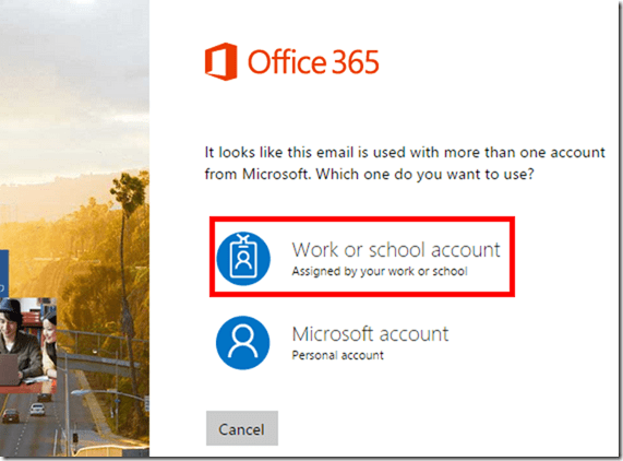 Office 365 Credentials
