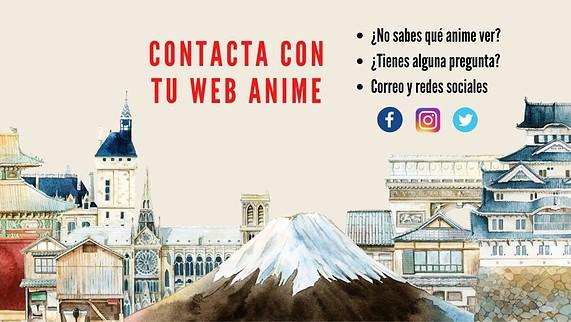 Contacto de Tu web anime, críticas y artículos de anime en español