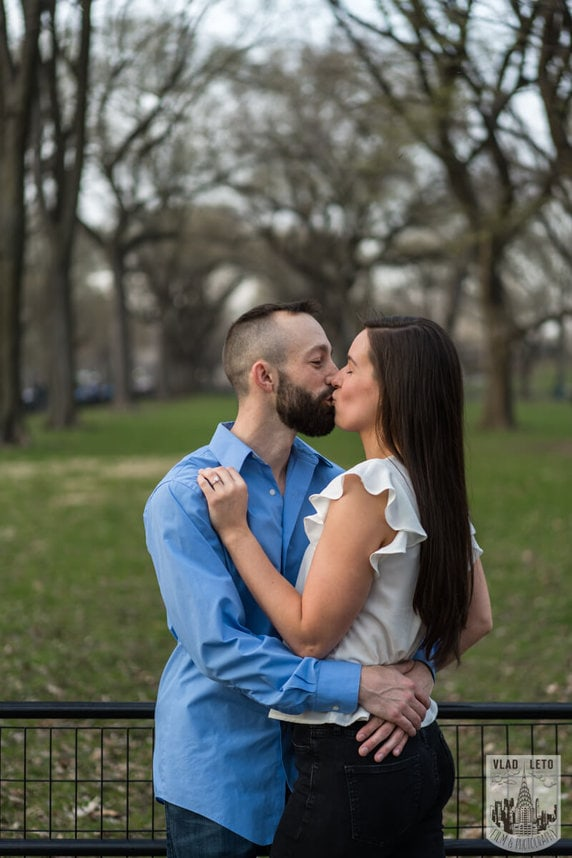 Photo 21 Central Park Marriage Proposal at The Lake Viewing Area | VladLeto