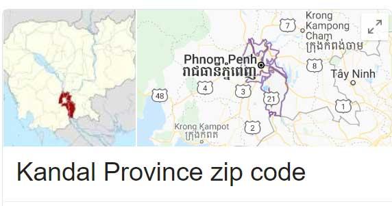 Kandal Province zip code