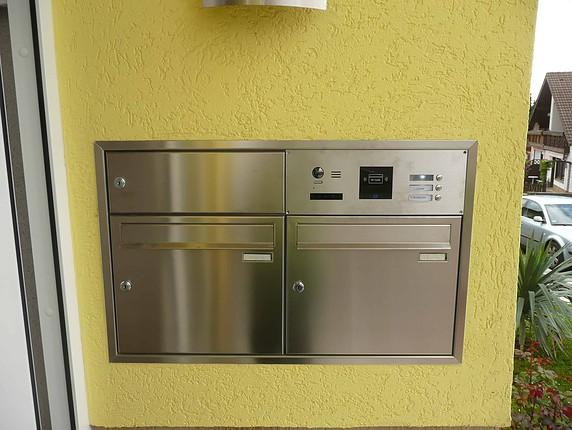 Briefkasten Sprechanlage BK-DSB42 modular | Schick-Handel ...