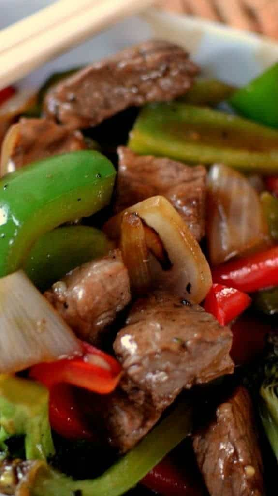 The Best Spicy Beef Pepper Stir Fry